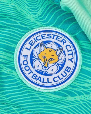 Leicester City Goalkeeper Shorts Green 2021/22 - Kids