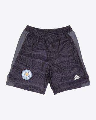Leicester City Goalkeeper Shorts Black 2021/22 - Kids
