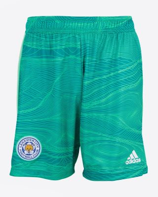 Leicester City Goalkeeper Shorts Green 2021/22