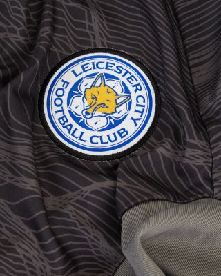 Leicester City L/S Goalkeeper Shirt Black 2021/22