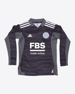 Kasper Schmeichel - Leicester City Goalkeeper Shirt Black 2021/22 - Kids