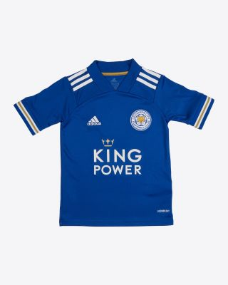 Jonny Evans - Leicester City King Power Home Shirt 2020/21 - Kids