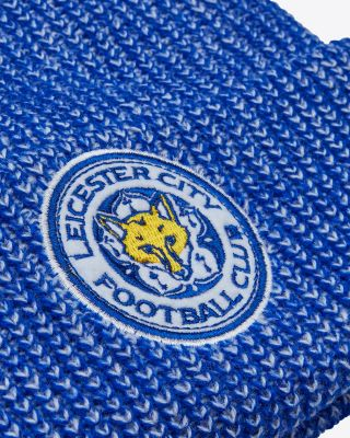Leicester City Heavy Loose Knit Bobble Hat