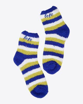 Leicester City Home Kit Slipper Socks