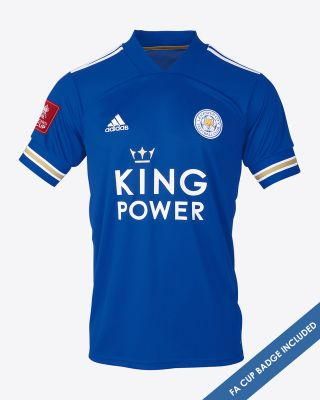 Leicester City King Power Home Shirt 2020/21 - FA CUP