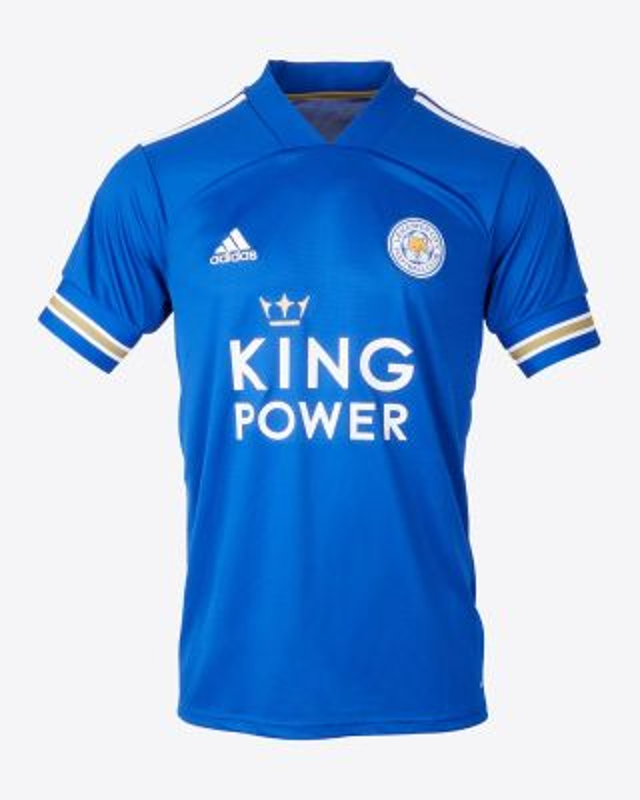 Jamie Vardy - Leicester City King Power Home Shirt 2020/21