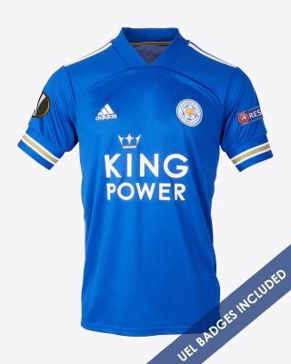 Islam Slimani - Leicester City King Power Home Shirt 2020/21 - Kids UEL