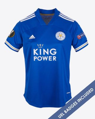 Jonny Evans - Leicester City King Power Home Shirt 2020/21 - Womens UEL