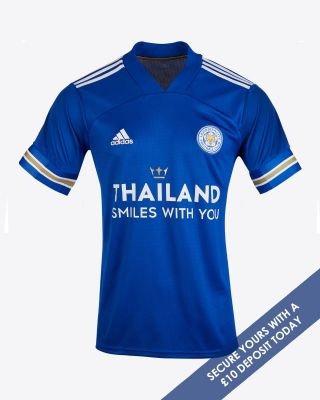 Leicester City Thailand Smiles With You Home Shirt 2020/21 - Kids - DEPOSIT
