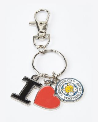 Leicester City Love Keyring