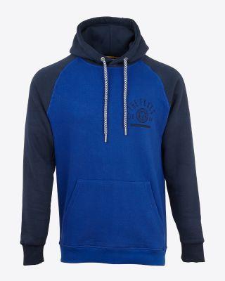 Leicester City Mens Blue/Navy Kegworth Hoody