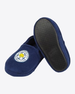 Leicester City Kids Full Crest Slippers