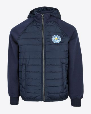 Leicester City Kids Navy Padded Jacket