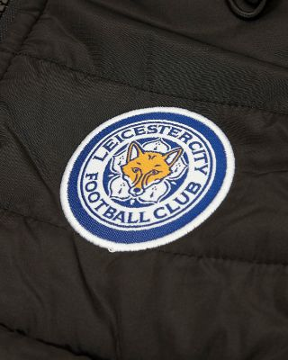 Leicester City Kids Empire Black Padded Jacket