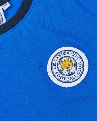 Leicester City Kids Blue Ringer T-Shirt