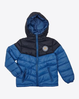Leicester City Kids Panama Royal/Navy Jacket