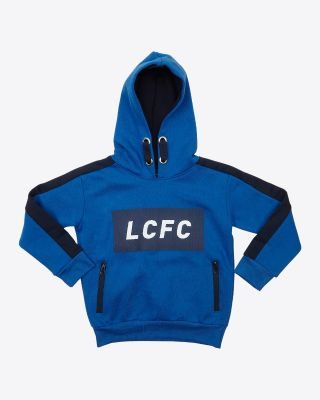 Leicester City Kids San Siro Royal/Navy Hoody