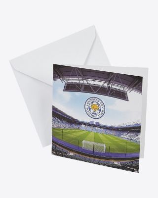 Leicester City Greetings Card - Assorted Designs - GREETINGS CARD STADIUM