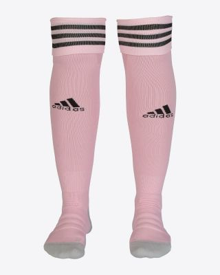 2019/20 adidas Leicester City Pink Away Socks
