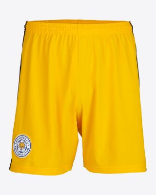 2019/20 adidas Leicester City Junior Gold Goalkeeper Shorts