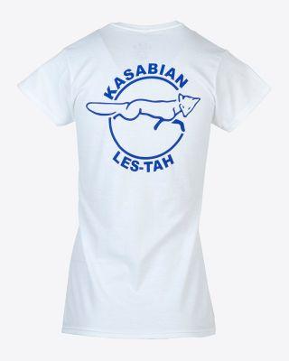Kasabian for LCFC - Womens White KSBN T-Shirt