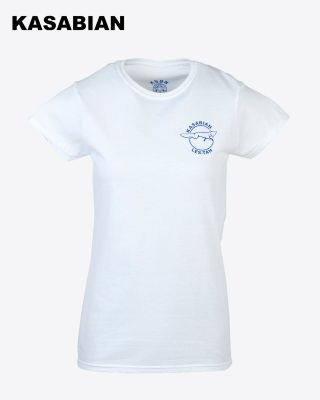 Kasabian for LCFC - Womens White KSBN T-Shirt
