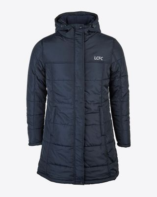 Leicester City Womens Navy Jacket