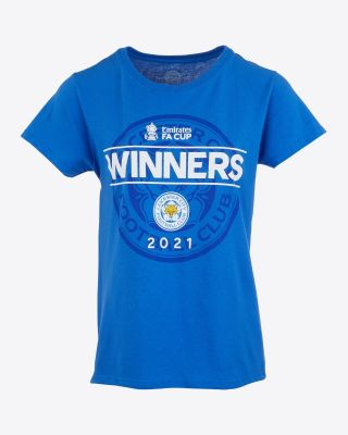 Leicester City FA Cup 2021 Winners T-Shirt - Womens