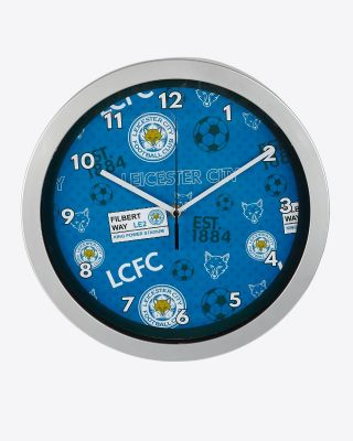 Leicester City Wall Clock