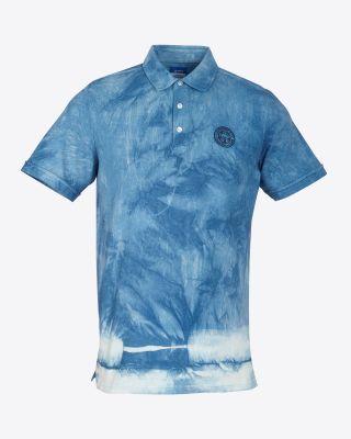 Leicester City Tie Dye Polo