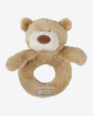 Leicester City Baby Bear Rattle