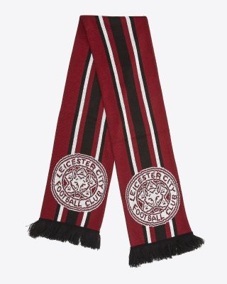 Leicester City Maroon Scarf