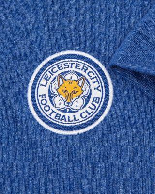 Leicester City Royal Melange T-Shirt - Kids