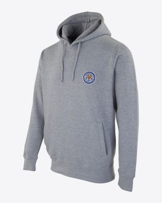 Leicester City Mens Billy Hoody - Grey