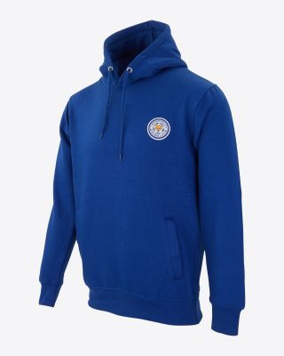 Leicester City Mens Billy Hoody - Royal