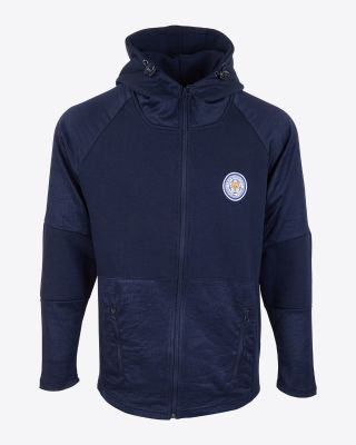 Leicester City Mens Cabora Hoody - Navy