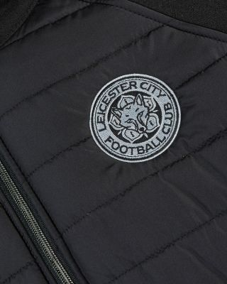 Leicester City Black Padded Jacket