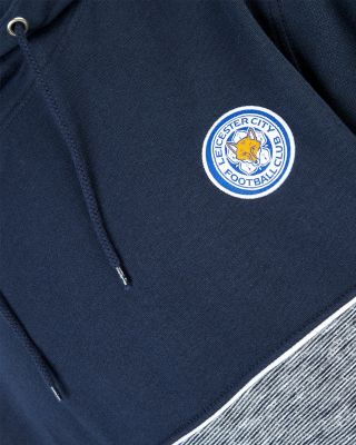 Leicester City Navy Split Hoody
