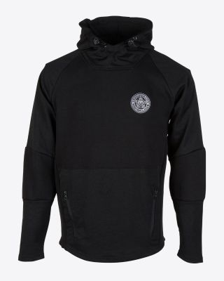 Leicester City Mens Black Zarivar Hoody