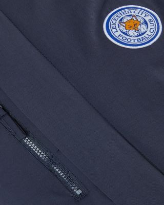 Leicester City Mens Navy Jacket