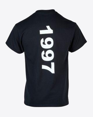 Kasabian for LCFC - Black LES-TAH 1997 T-Shirt