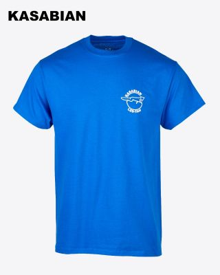 Kasabian for LCFC - Blue Playmaker T-Shirt