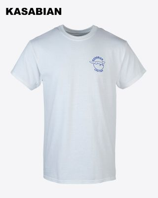 Kasabian for LCFC - White Target Man T-Shirt