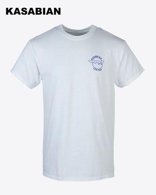 Kasabian for LCFC - White Target Man T-Shirt