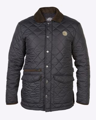 Leicester City Mens Quilted Jacket