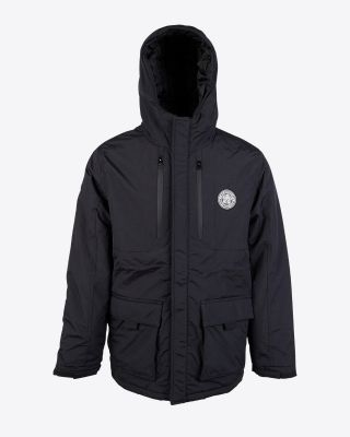 Leicester City Mens Black Squadron Jacket