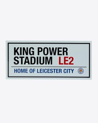 Leicester City Street Sign