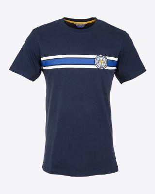 Leicester City Mens Navy Mowbray T-Shirt