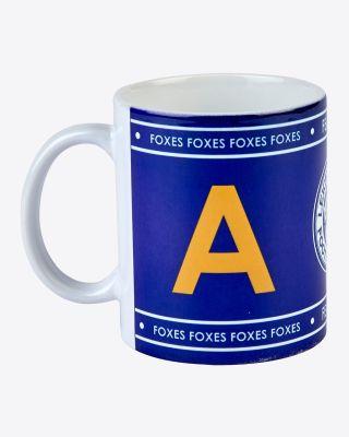 Leicester City Initial Mug A-Z