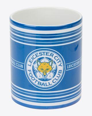 Leicester City Striped Mug